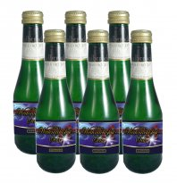 6 x Weihnachtsfest Piccolo 0,2l Sekt