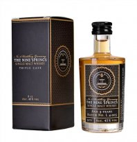 The Nine Springs - Triple Cask 5cl Miniatur