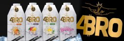 4Bro Ice Tea Mango-Maracuja 8x500ml