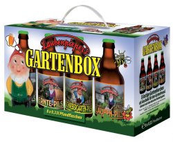 Gartenbox Bier 8er im Geschenkekarton