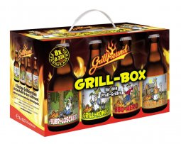 Grillbox Bier 8er Geschenkekarton