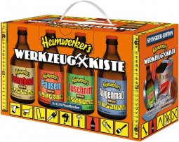 Heimwerker Bier / Werkzeugkiste Handwerkerbier 8er